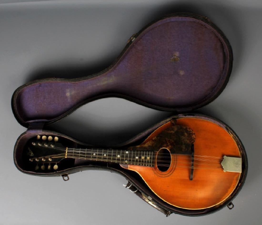 EARLY Gibson A-1 Wood Mandolin w/ Case, Circa 1911 - 10
