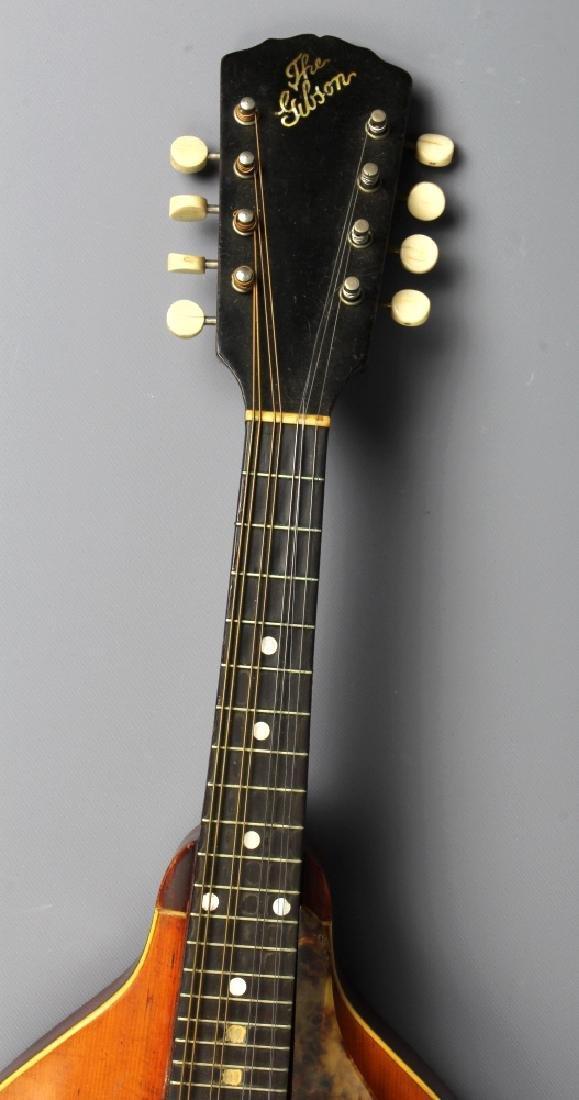 EARLY Gibson A-1 Wood Mandolin w/ Case, Circa 1911 - 3