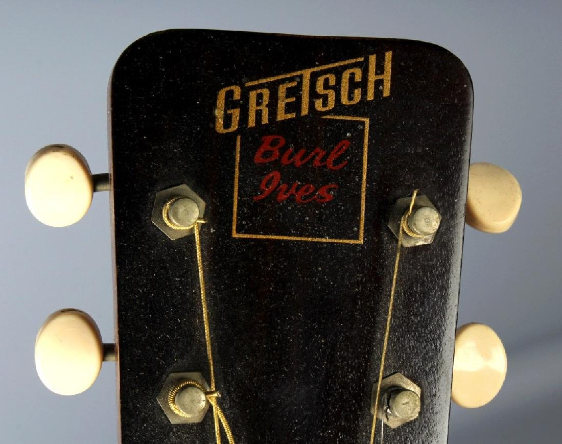 1950's Gretsch Burl Ives Acoustic Guitar SN#15915 - 4