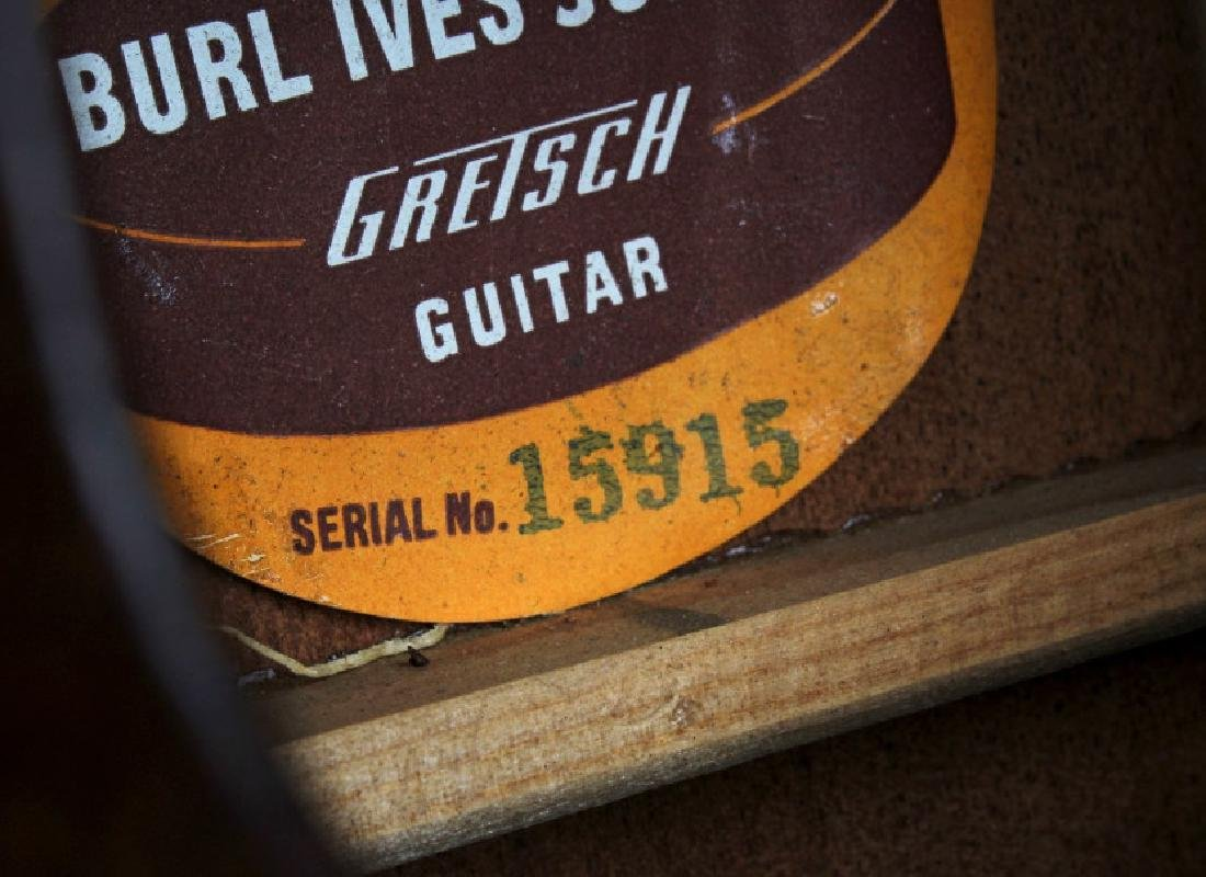 1950's Gretsch Burl Ives Acoustic Guitar SN#15915 - 9