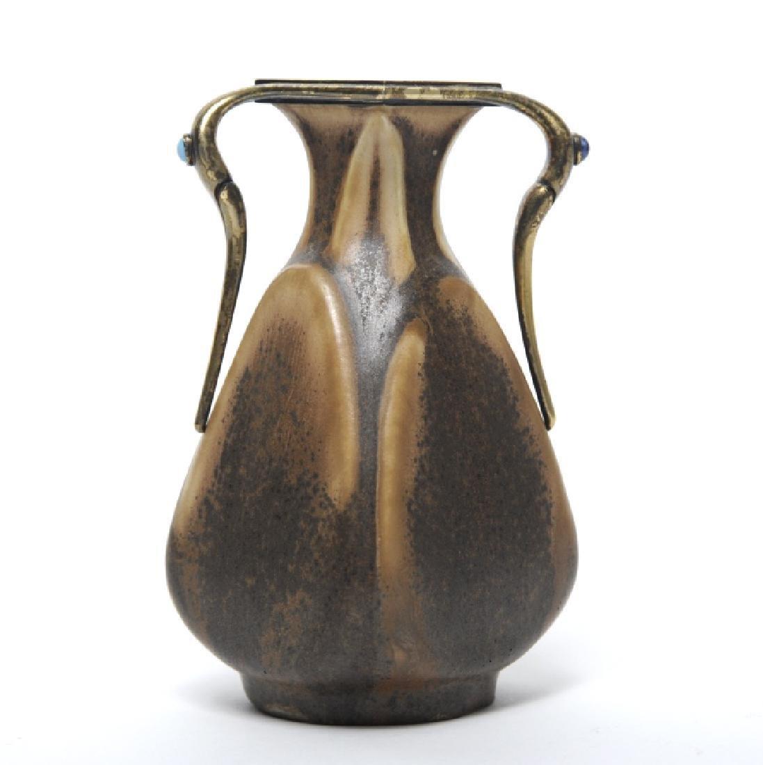 Girault Demay et Vignolet Bruere Pottery Vase FINE