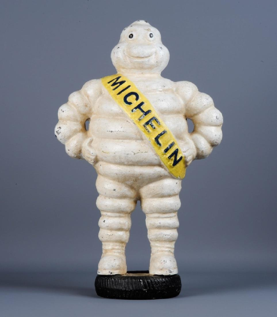 Cast Iron Advertising Michelin Man Bibendum Figure