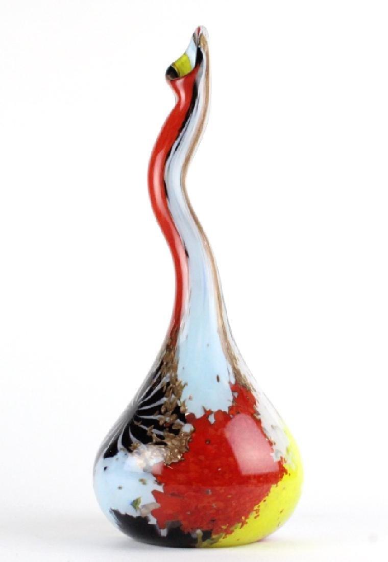 Dino Martens Murano Italian Art Glass Gourd Vase