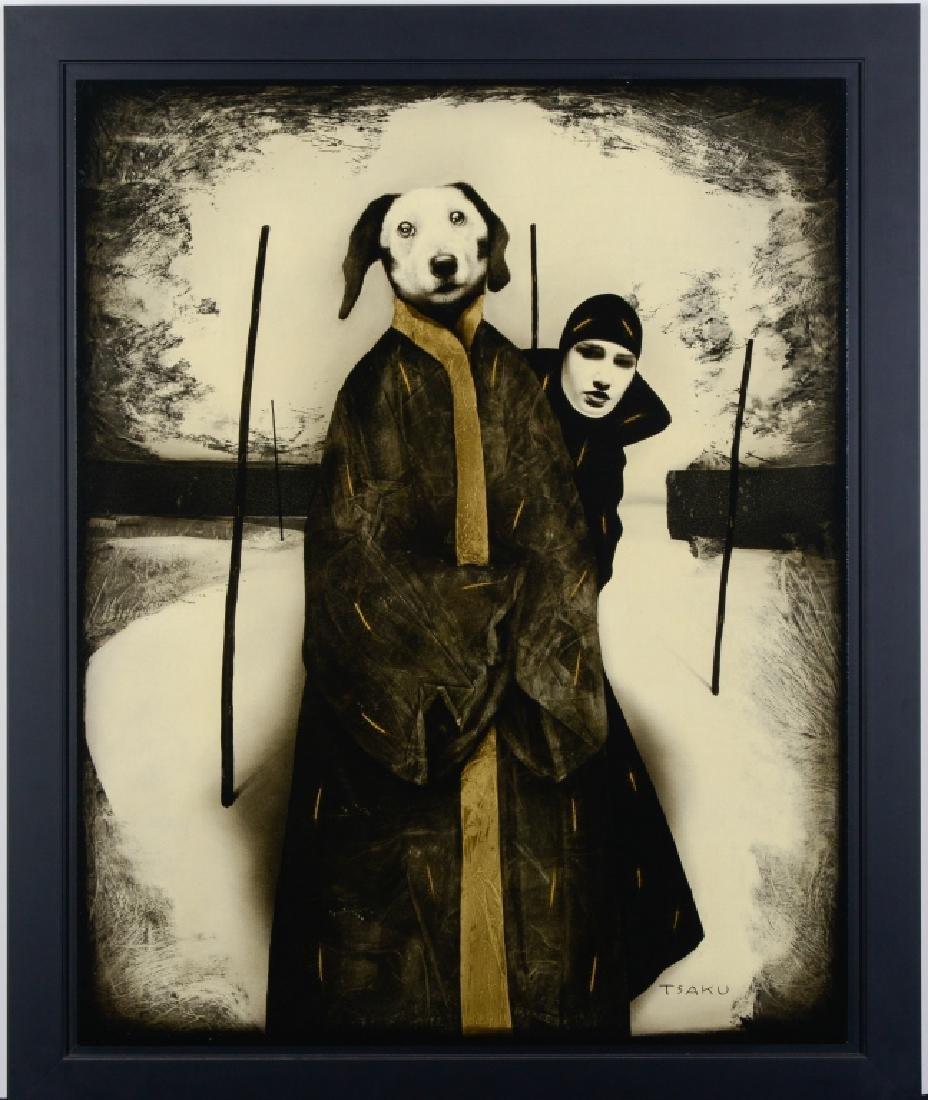 Timur Tsaku HAIYA KUDSHA Surrealist Oil Painting