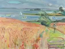Trafford Klots Landscape Impressionist Painting