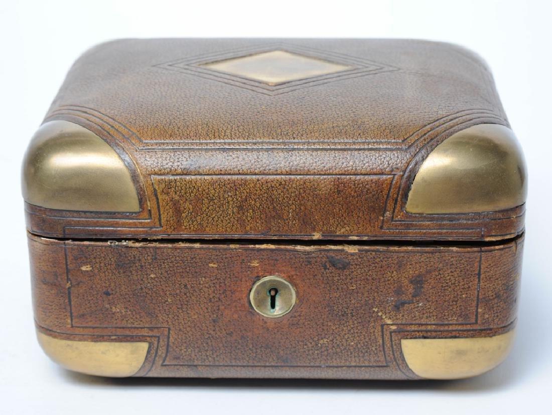 Tiffany & Co Gentleman Traveling Jewelry Case Box