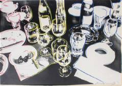 """Signed ANDY WARHOL """"After The Party"""" Screenprint"""