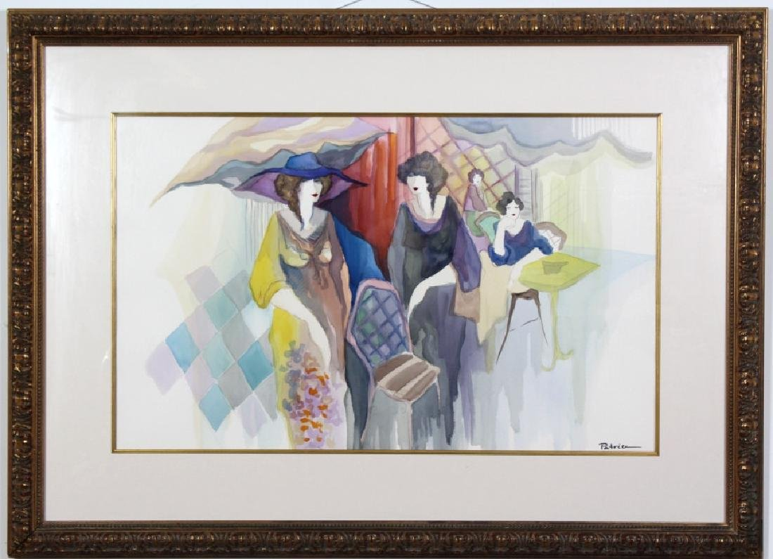 Original Patricia Govenzensky Watercolor Painting