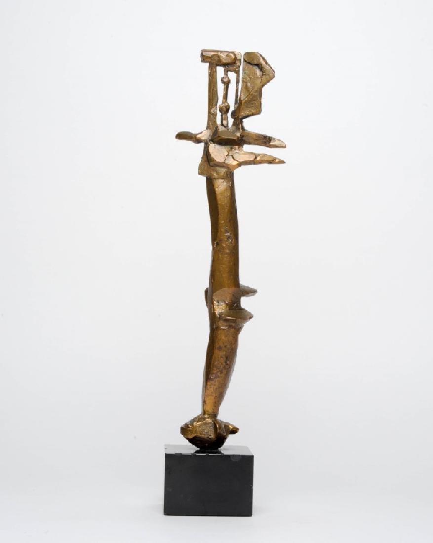 DIMITRI HADZI Karnak Modernist Bronze Sculpture LE