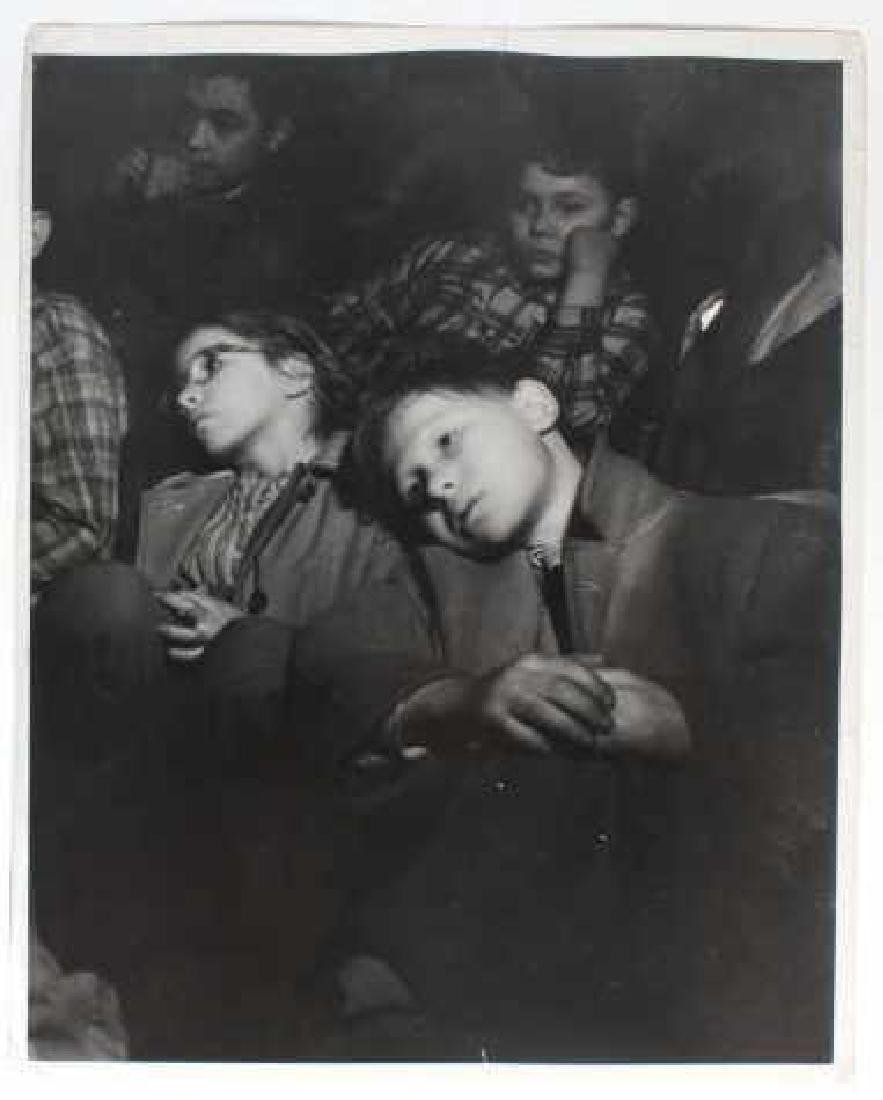 Weegee 1899 1968 Children Theater Photo Photograph