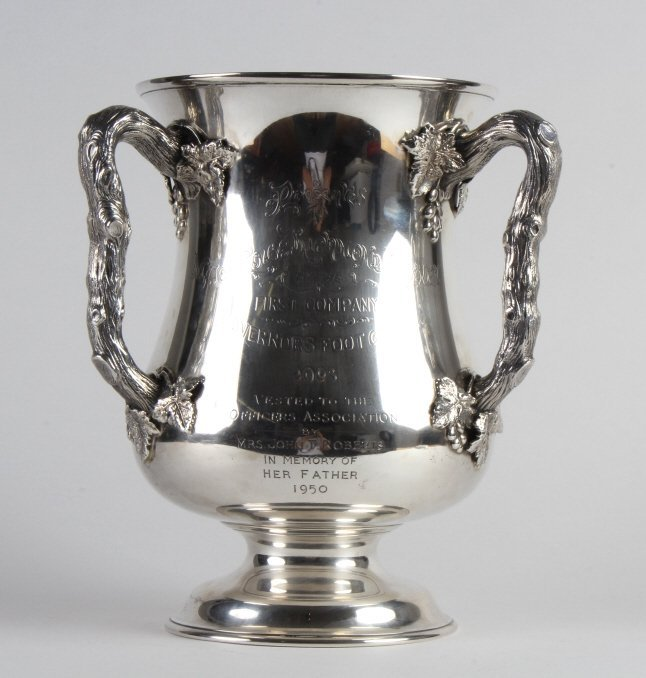 GORHAM Sterling Silver 3 Handled Loving Cup c.1900