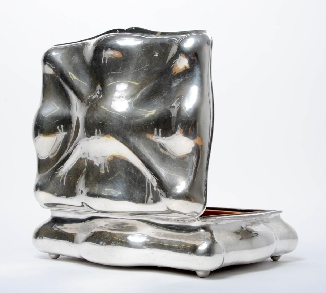 Art Nouveau Austrian Sterling Silver Hinged Box