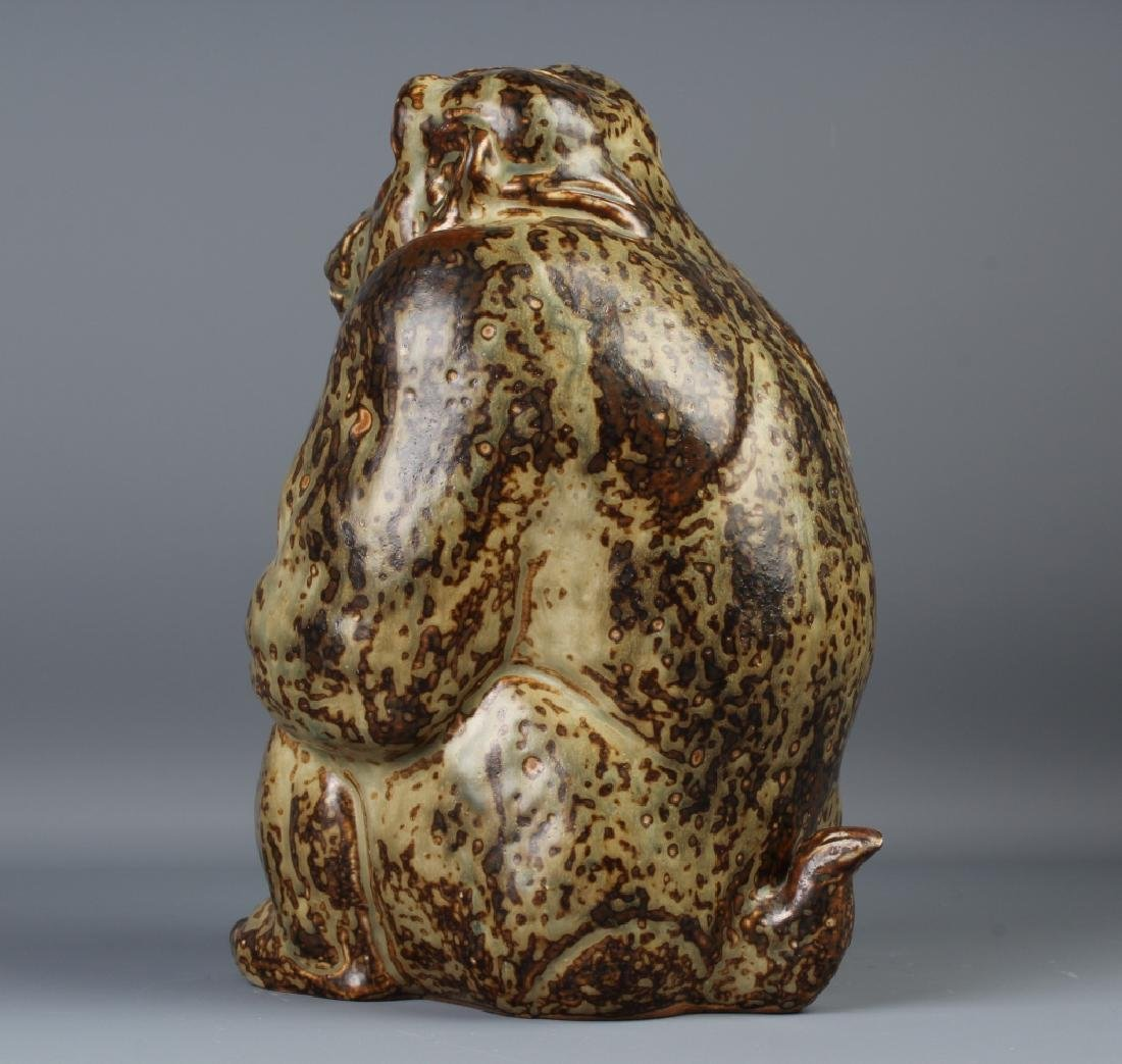Knud Kyhn Royal Copenhagen Stoneware Gorilla - 5