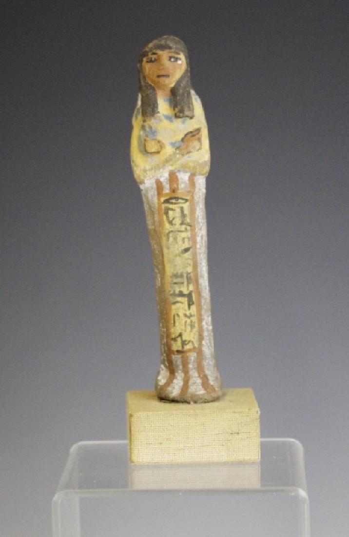 "RARE Ancient Egyptian Female Ushabti 6"" Statue"