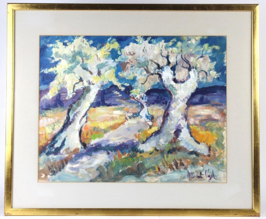 Albert Vagh Impressionist Landscape Painting 16x21