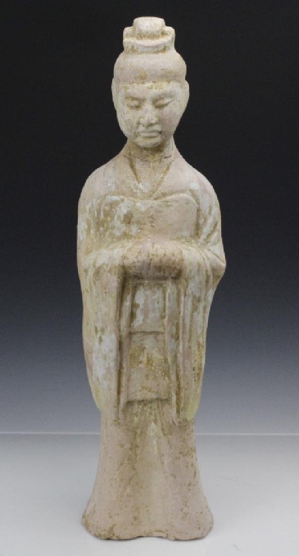 Ancient Tang Dynasty Terracotta Tomb Figure of Man