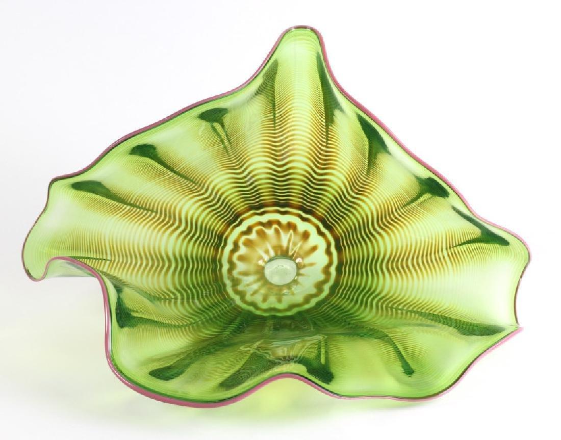 Art Glass Macchia Wall Flower Dale Chihuly Style