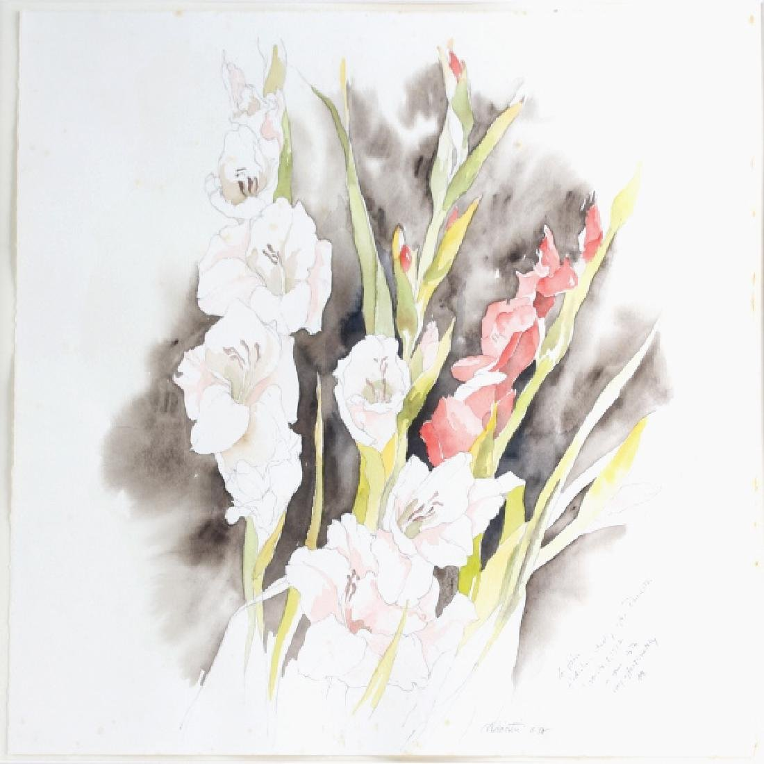 Joe Nicastri Floral Still Life Watercolor Painting