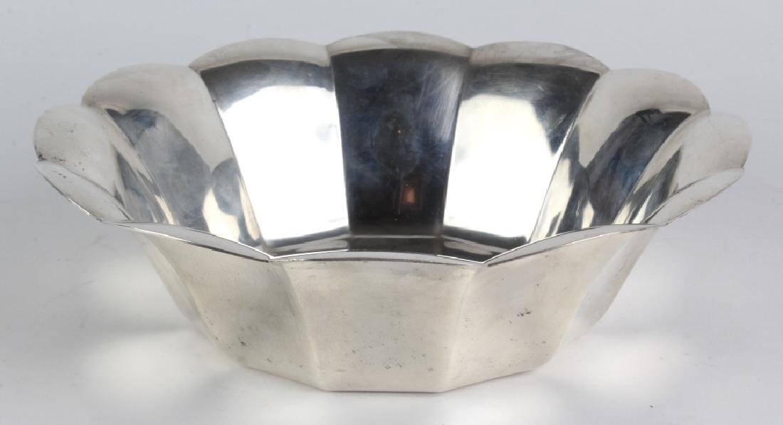 Tiffany & Co. Sterling Silver Scalloped Edge Bowl