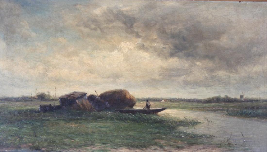 Hendrik-Dirk Kruseman Van Elten Dutch Oil Painting