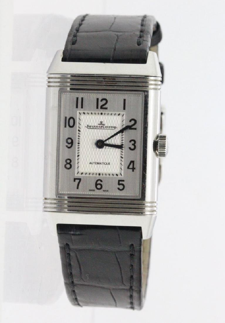 Mens Jaeger LeCoultre Steel Reverso Watch 212.8.S5