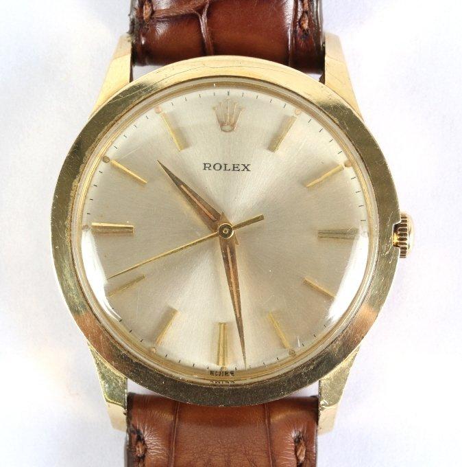 Working VTG 1950's 14k ROLEX Cal. 1530 Men's Watch