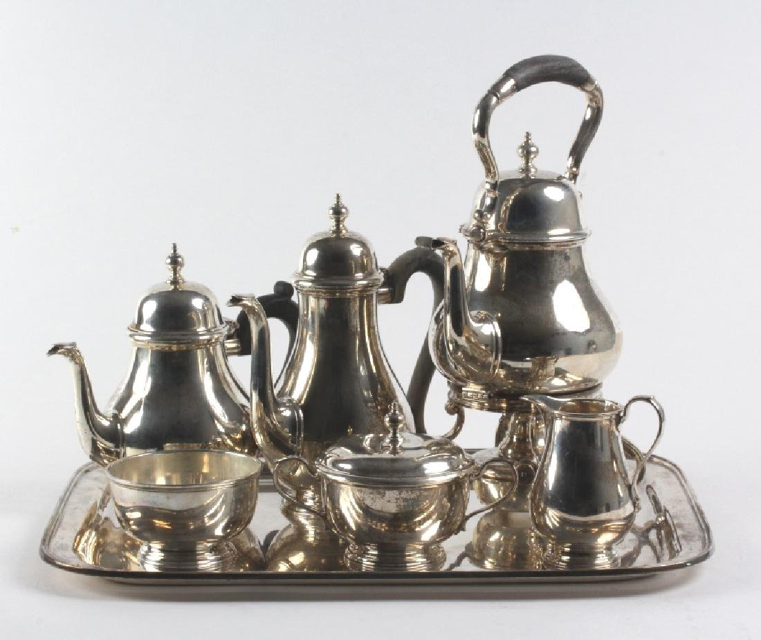 7pc Tiffany & Co Sterling Silver Tea Beverage SET