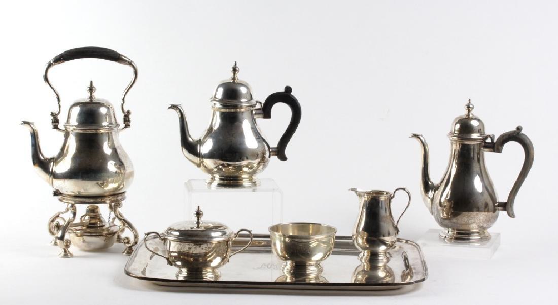 7pc Tiffany & Co Sterling Silver Tea Beverage SET - 2