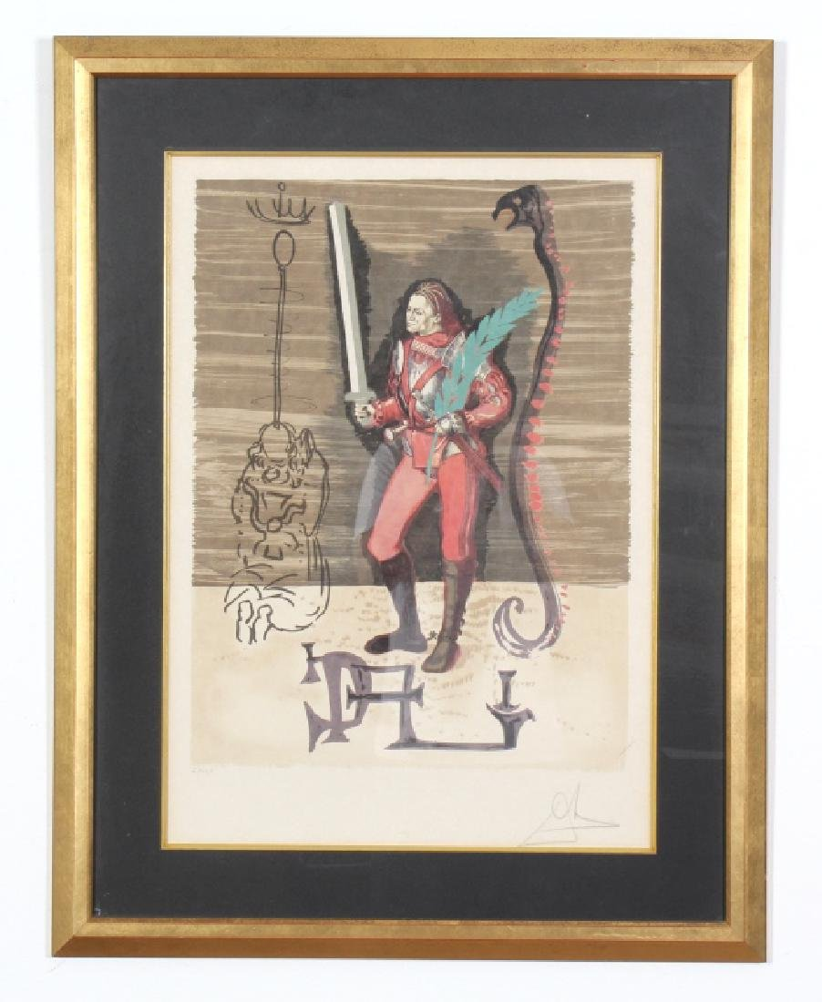 Salvador Dali CHRISTOPHER COLUMBUS Lithograph