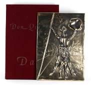 Dali DON QUIXOTE Dalivision A/P Relief Sculpture