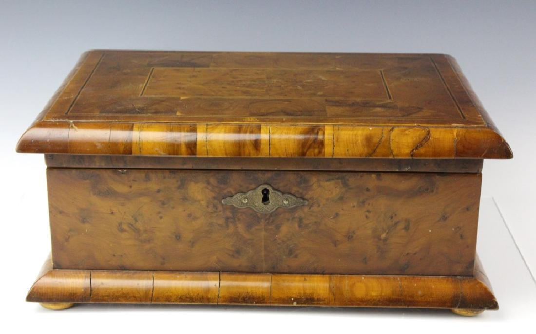 Dunhill Burl Wood Cigar Tobacco Humidor Case Box