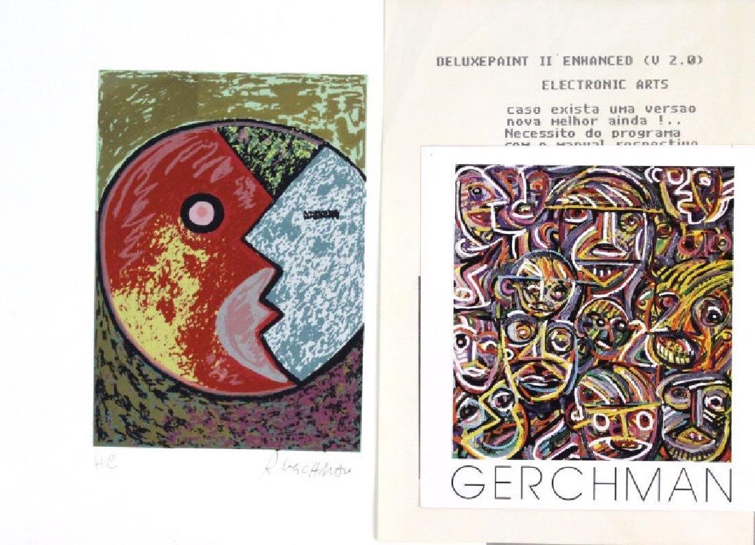 Rubens Gerchman Signed Hors Commerce BASS MUSEUM