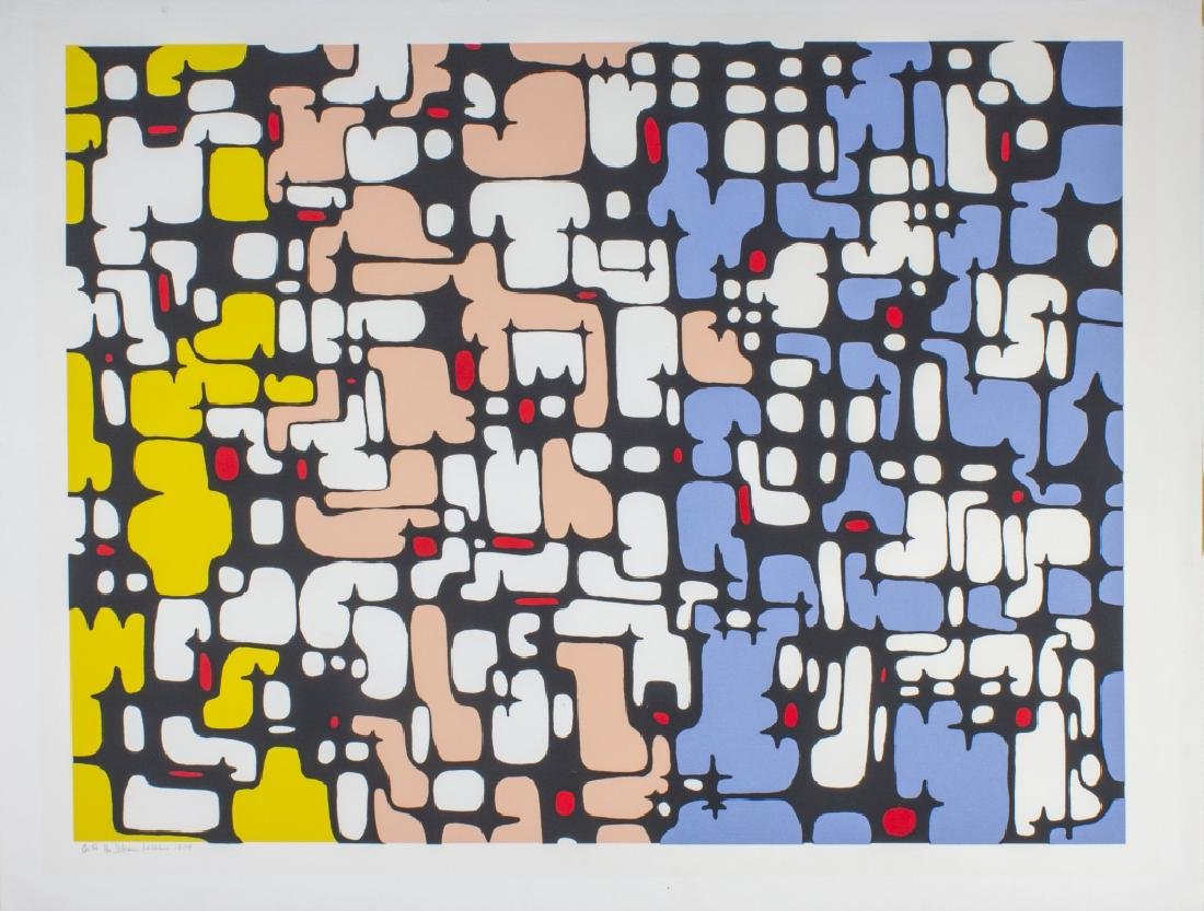 Ibram Lassaw Continuity No.1 L/E Print BASS MUSEUM