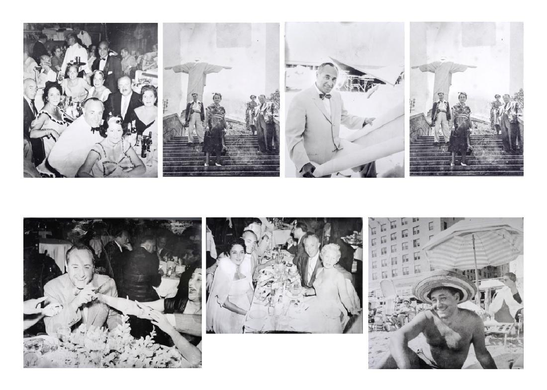 6 Morris Lapidus B&W Photograph Photo BASS MUSEUM