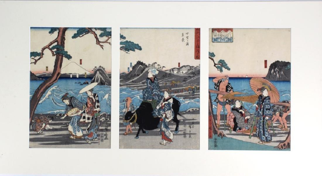 Utagawa Ando Hiroshige Woodblocks BASS MUSEUM