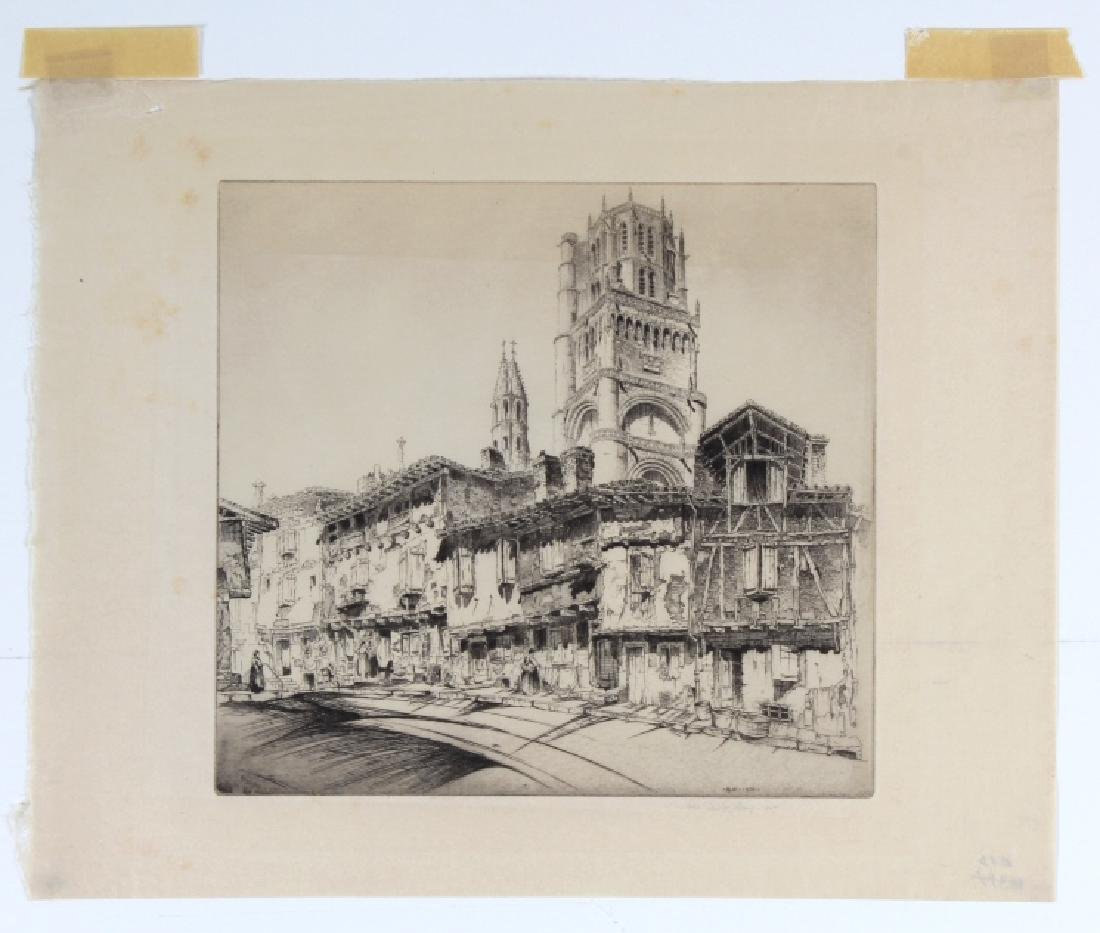 SIGNED John Taylor Arms ALBI Etching BASS MUSEUM
