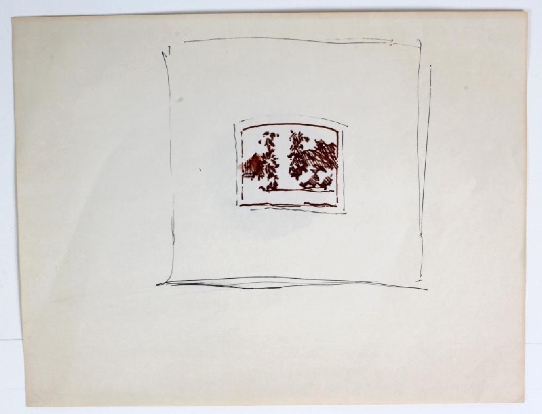 James Mahlon Rosen 3 Works on Paper BASS MUSEUM