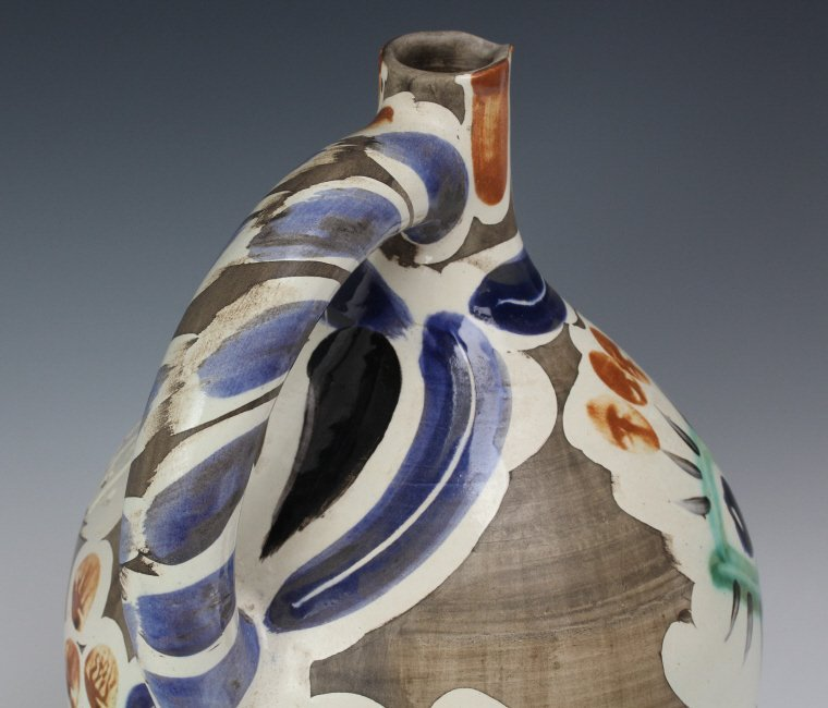 Pablo Picasso Visage au nez Madoura Art Pottery Pitcher - 7