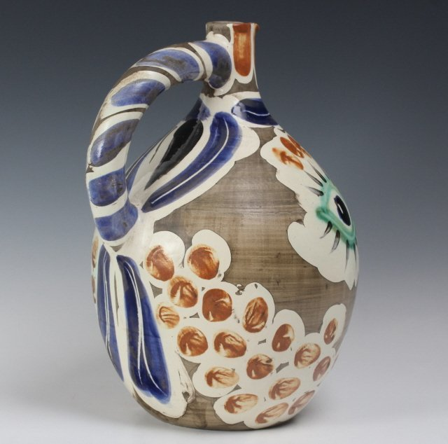 Pablo Picasso Visage au nez Madoura Art Pottery Pitcher - 8