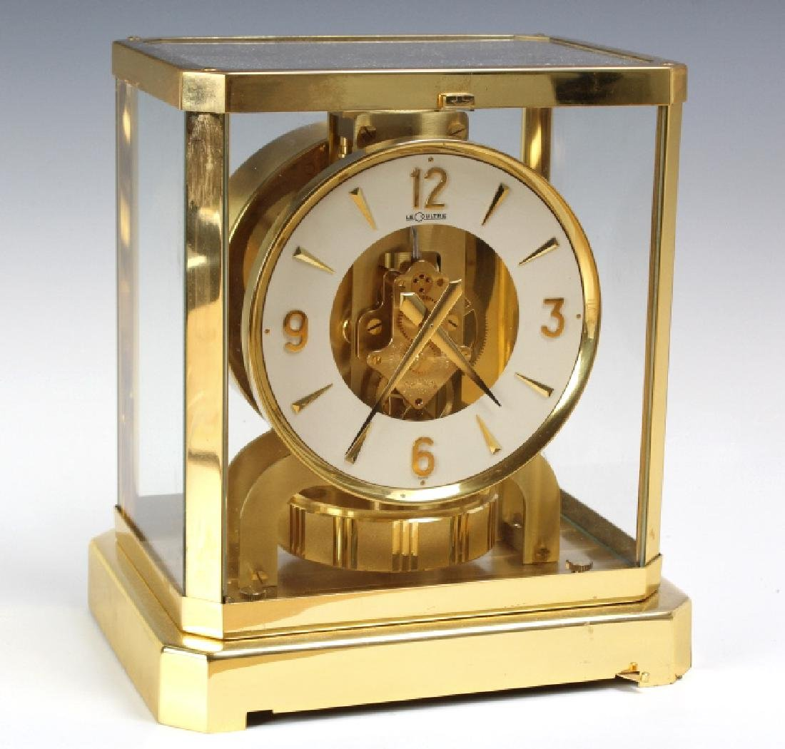Jaeger Le Coultre Atmos Gold Case Mantle Clock