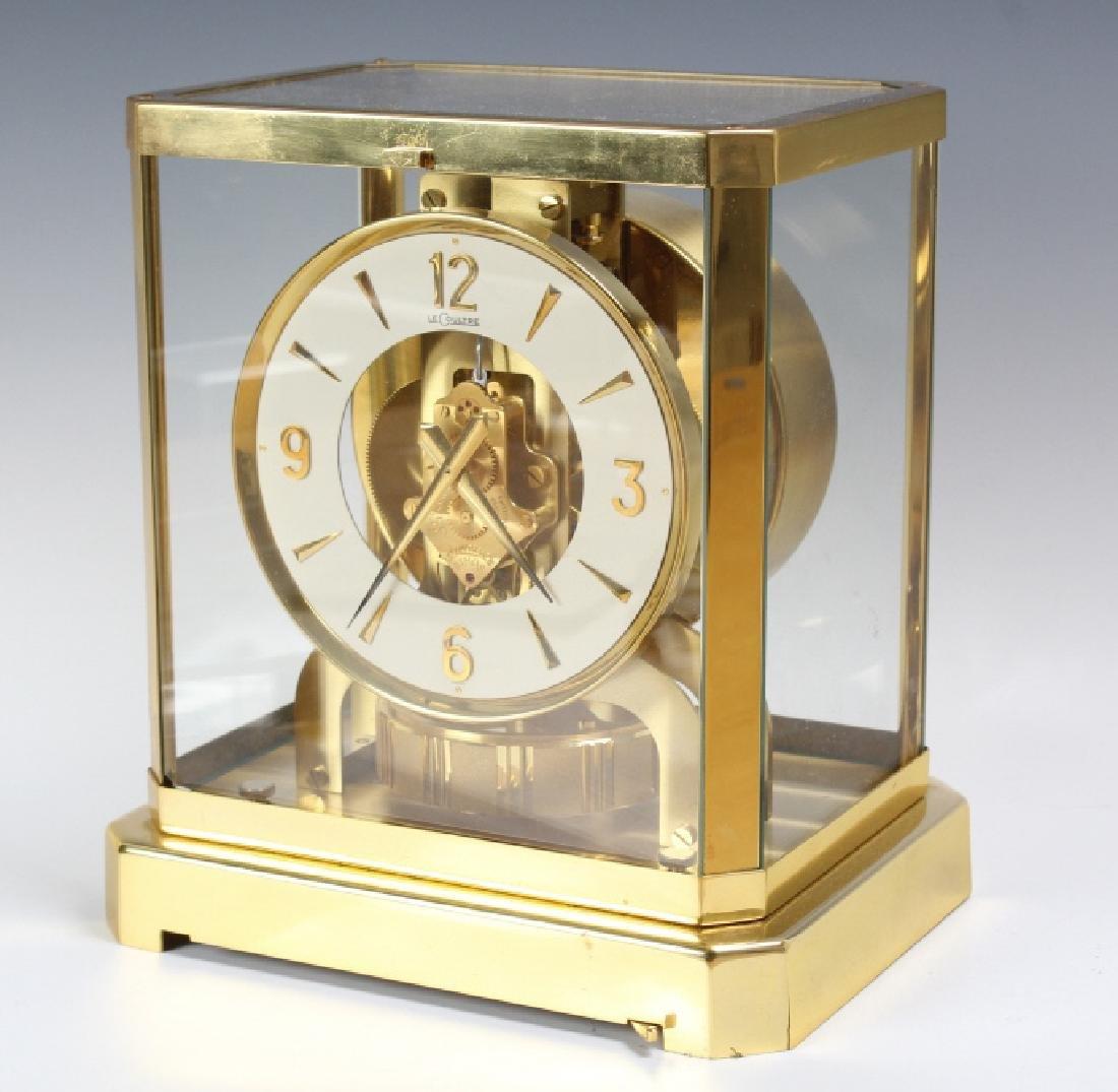 Jaeger Le Coultre Atmos Gold Case Mantle Clock - 2