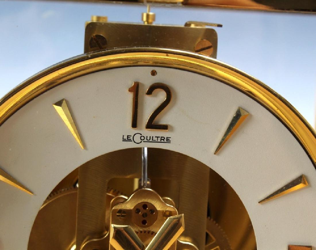 Jaeger Le Coultre Atmos Gold Case Mantle Clock - 6