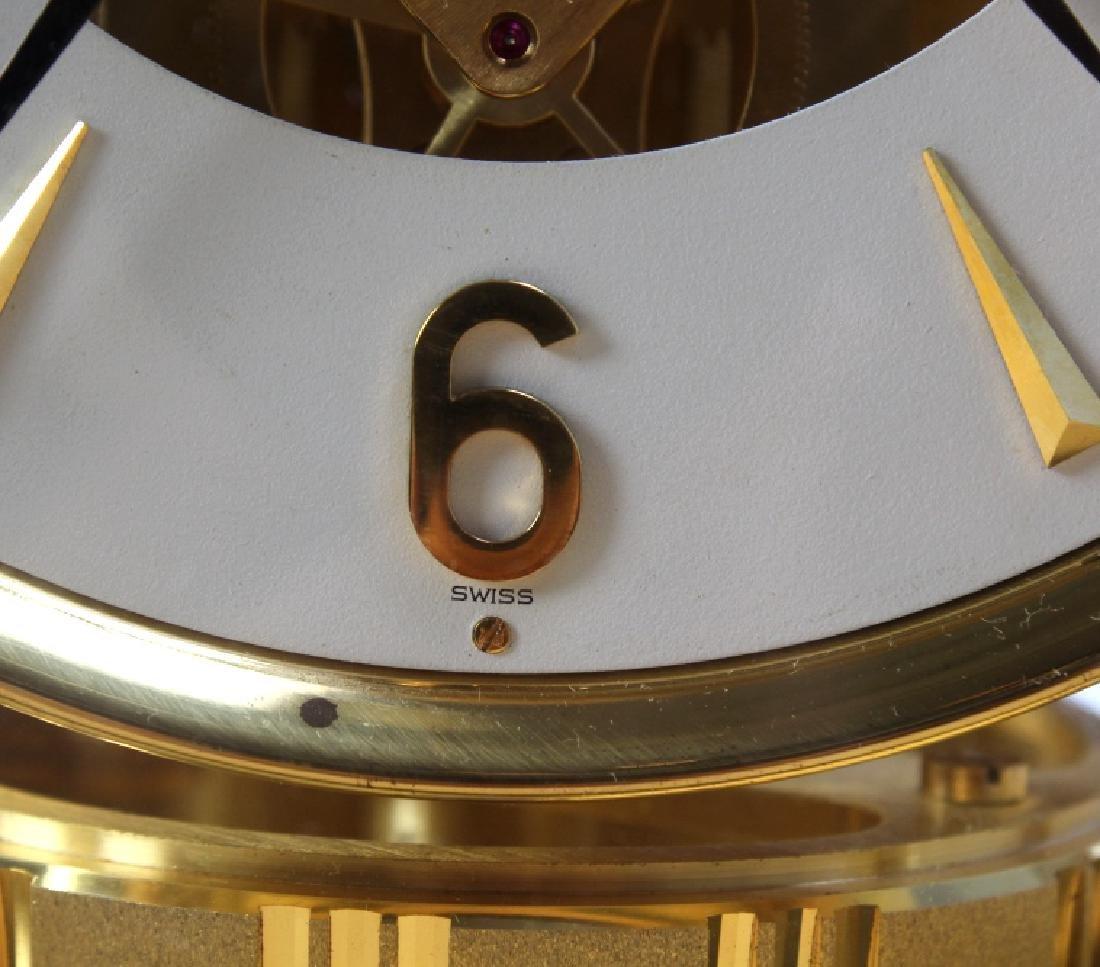 Jaeger Le Coultre Atmos Gold Case Mantle Clock - 7