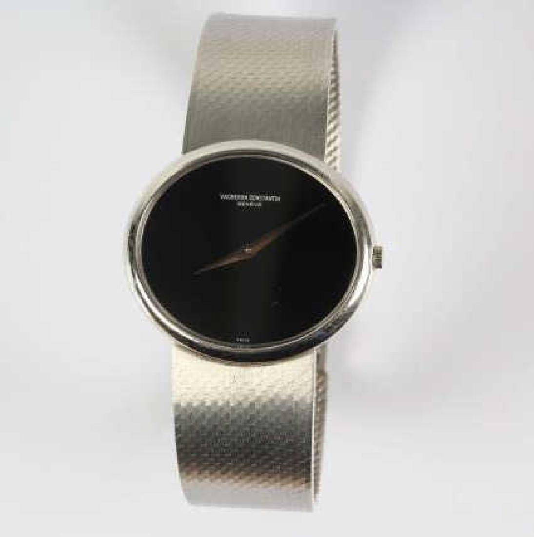 Mens Vacheron Constantin 18k White Gold Wristwatch