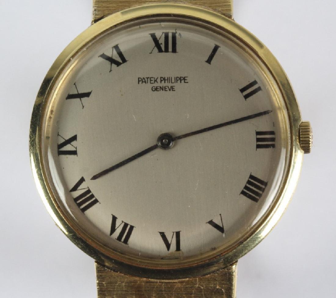 Mens Patek Philippe 18k Gold Tiffany & Co Watch - 2