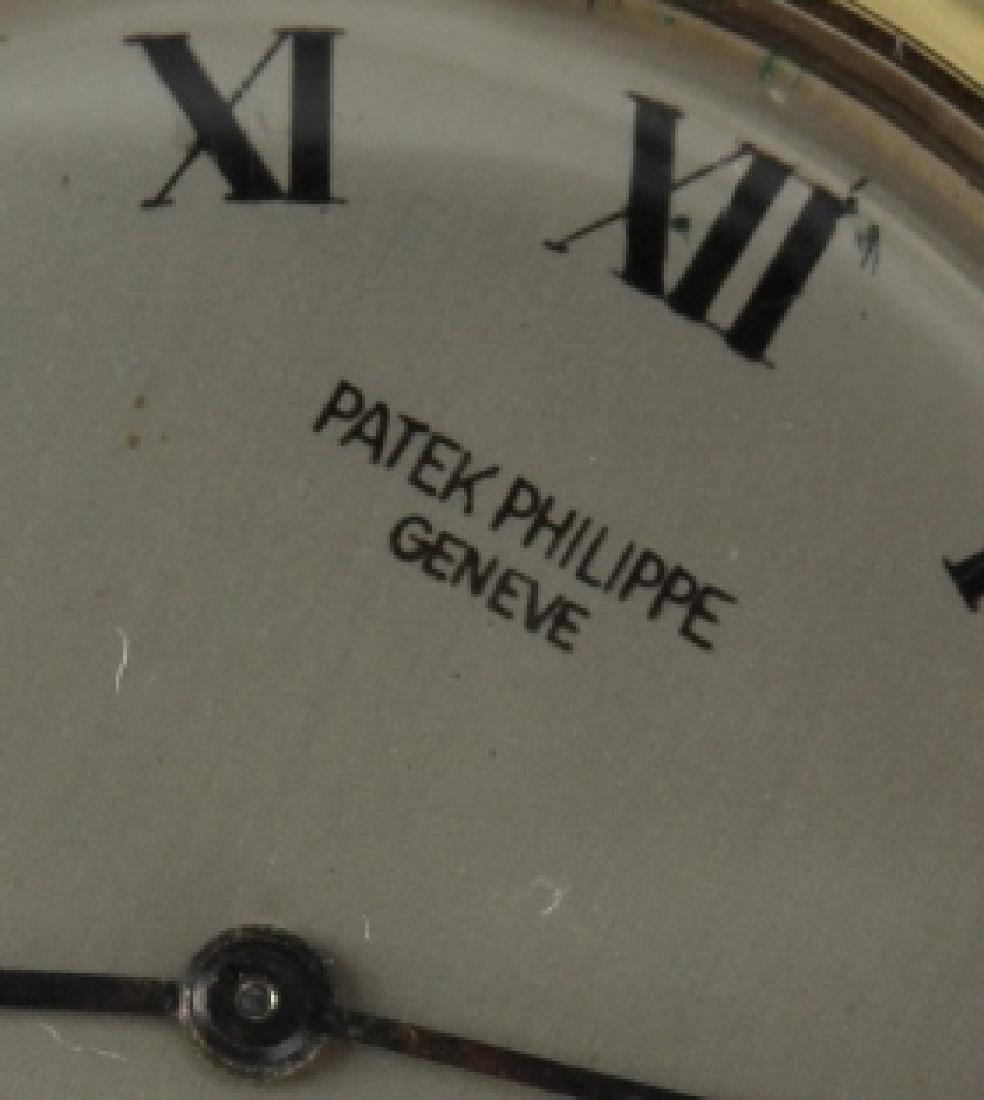 Mens Patek Philippe 18k Gold Tiffany & Co Watch - 3