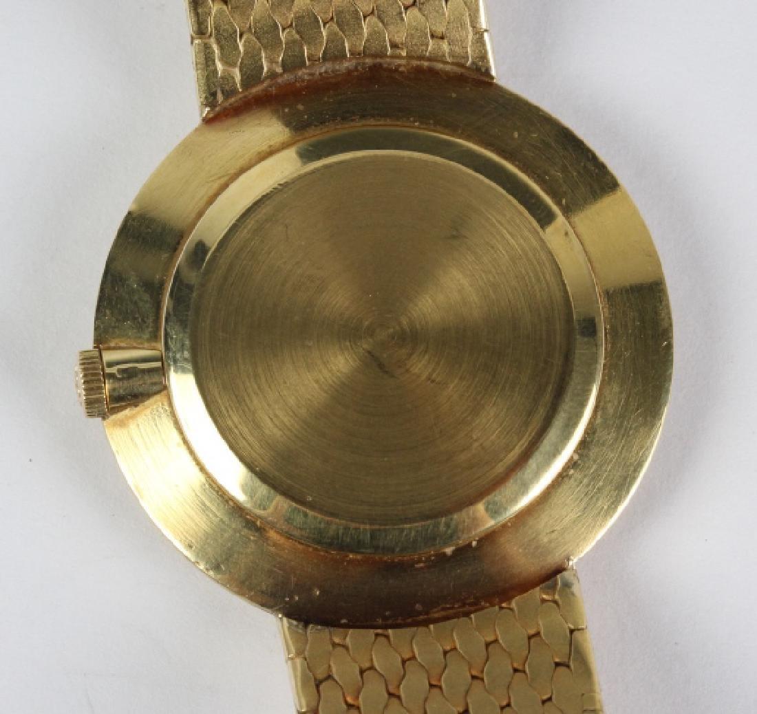 Mens Patek Philippe 18k Gold Tiffany & Co Watch - 5