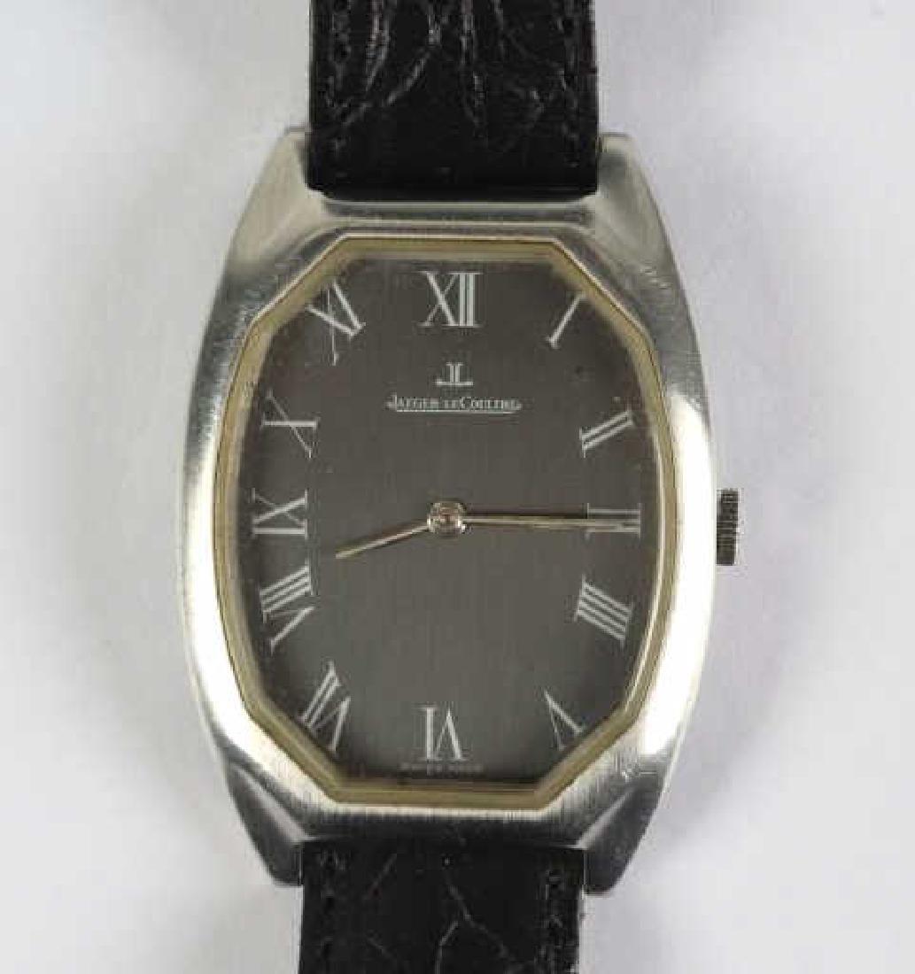 Unusual Vintage Jaeger LeCoultre Mens Wristwatch