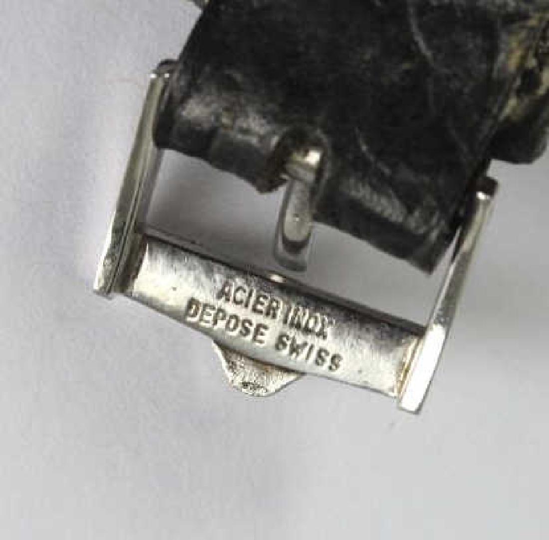 Unusual Vintage Jaeger LeCoultre Mens Wristwatch - 7