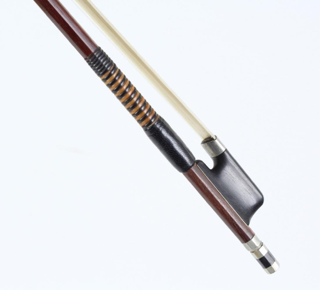 Fine Pair Violin Bows M. Winterling & Voirin Model - 6